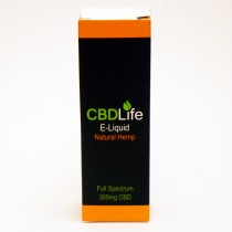 CBD Life Broad Spectrum 3% CBD e-Liquid (Natural Hemp)