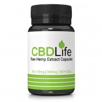 CBD Life Full Spectrum 300mg Hemp Oil Capsules