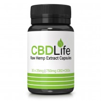 CBD Life Full Spectrum 750mg Hemp Oil Capsules
